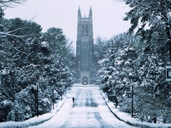Duke University Campus Duke Chapel Snowy Chapel Drive D CP DC 00015 MD